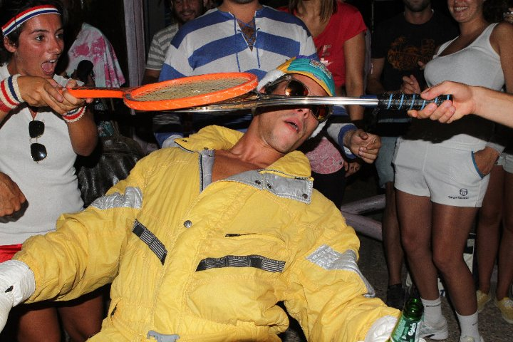 VINTAGE SPORT PARTY @LA GOLETTA 2011