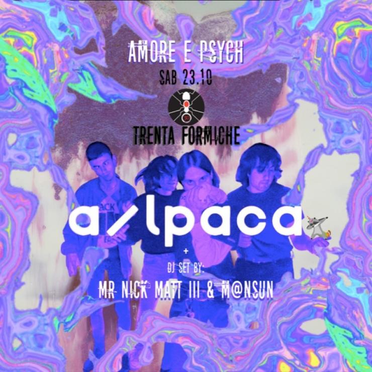 a/lpaca ◆ Amore & Psych ◆ Trenta Formiche